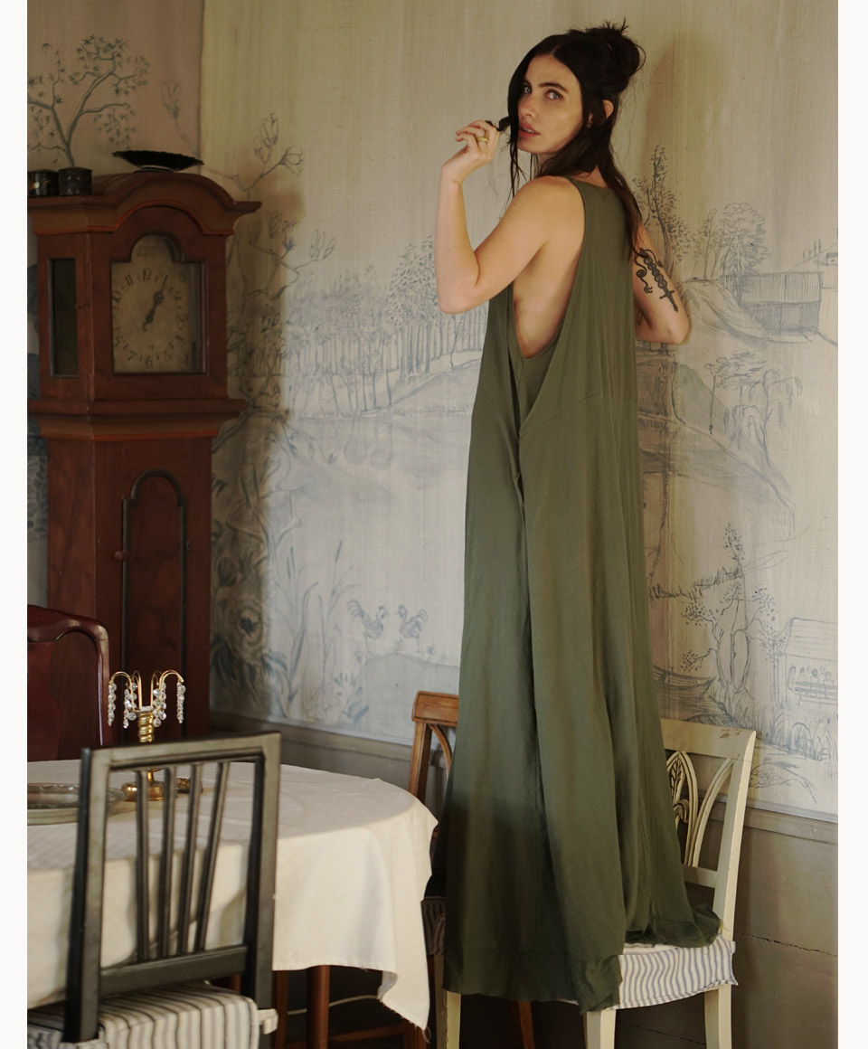 AMARYLLIS DRESS OLIVE